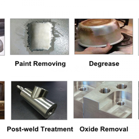 Remove oxides, oils, oils and product residues